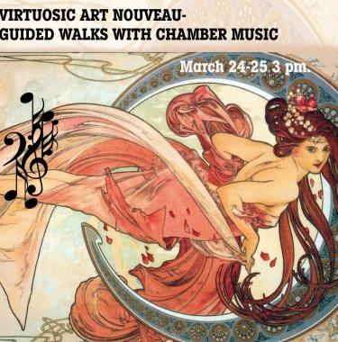 Art Nouveau Walk, budapest free walk, budapest spring festival