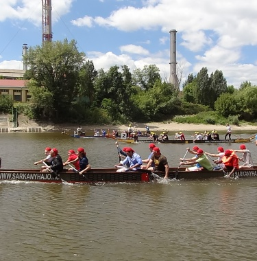 dragon boat competition, Incentive Weekend in Budapest