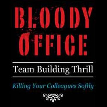 bloody office, team building, facebook game