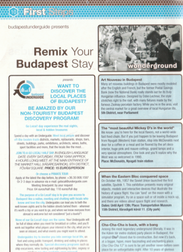 sight seeing budapest, alternativ sightseeing budapest, discover biudapest