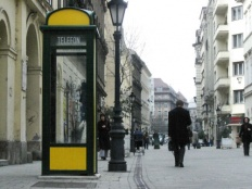 travel Hungary, public phone