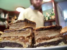Flódni, Hungarian Gastronomy, Pastry, Walnut, Plum Jam,