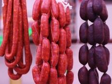 Hungarian Cuisine, sausage, kolbász