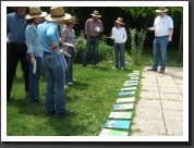 Plen air painting - creative team building in Budapest