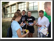 Urban Geocache Game in Budapest - a special team building