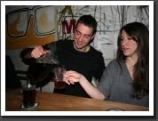 Zsófi and Bálint like hot wine