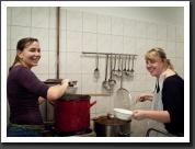 Cooking Gulyás for the Homeless - cooking is fun