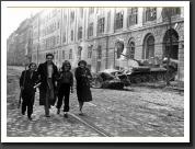 budapest street 1956